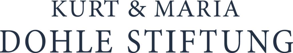 Logo Kurt und Maria Dohle Stiftung
