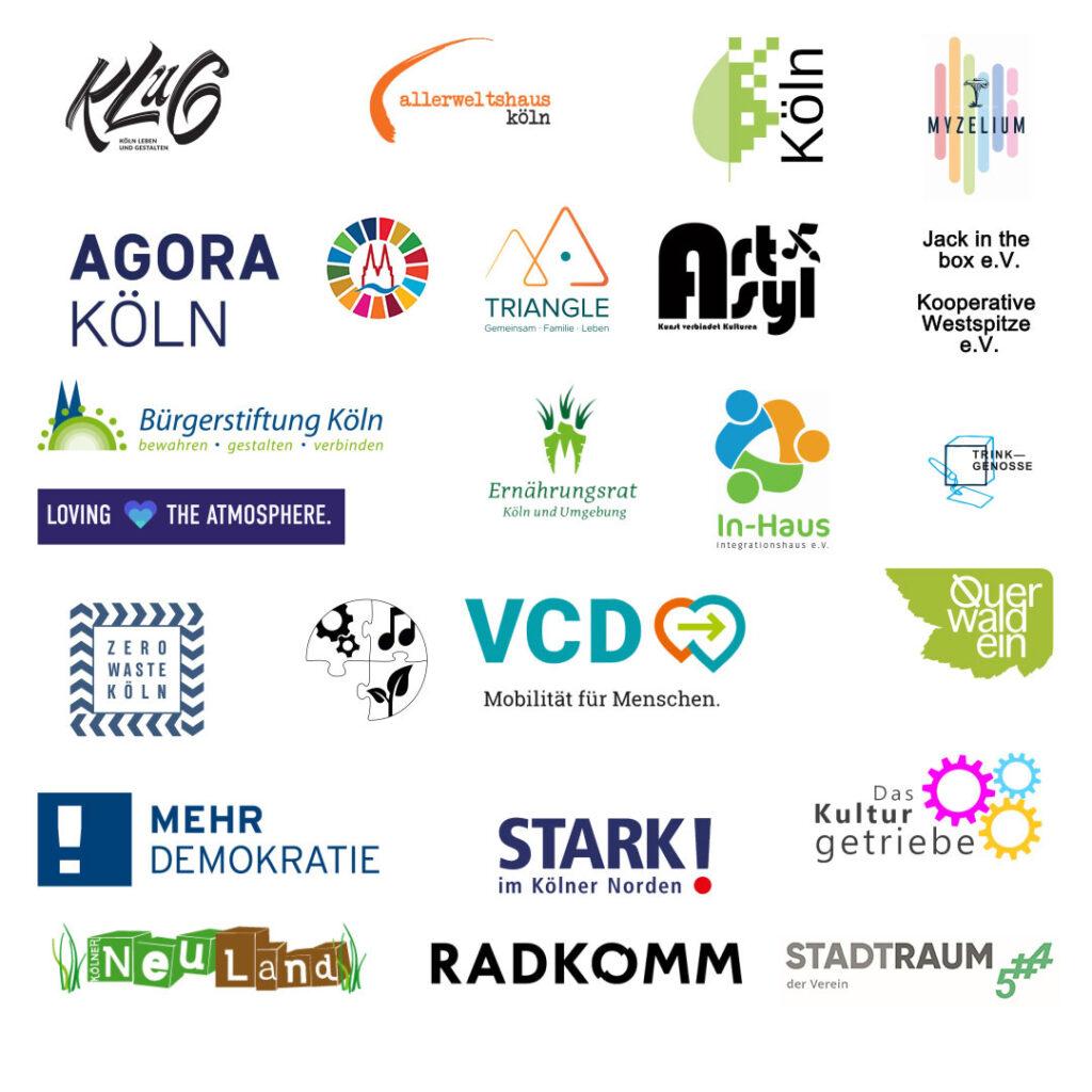 Bild: Logo-Sammlung aller unterstützenden Institution