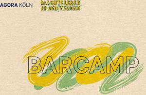 Logo: Agora Köln - Das gute Leben in den Veedeln - BarCamp